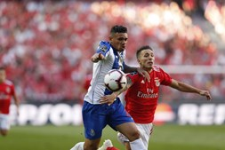 Momento do Benfica - FC Porto