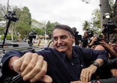 Bolsonaro é um dos candidatos favoritos à vitória