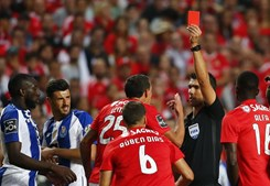 Lema expulso no Benfica - FC Porto