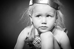 Augustine de 4 anos lutava contra um tumor raro no cérebro.