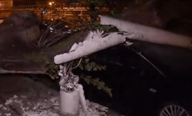 Leslie deixa rasto de destruição na Figueira da Foz