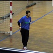 Fábio Felgueiras, jovem que viu a mãe morrer nas bancadas durante jogo de Futsal