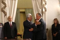 Marcelo e Costa na tomada de posse dos novos ministros
