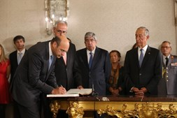 Pedro Siza Vieira tomou posse como ministro Adjunto e da Economia