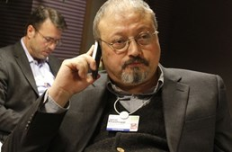 O jornalista Jamal Khashoggi