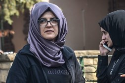 Hatice era noiva do jornalista Jamal Khashoggi