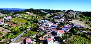 Vista panorâmica da aldeia de Almofala