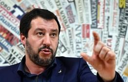 Matteo Salvini, ministro do Interior de Itália