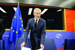 Ministro da Economia e Finanças francês, Bruno Le Maire