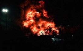 Helicóptero do dono do Leicester despenha-se e incendeia-se junto ao estádio