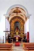 Igreja matriz fica no centro de Ponte de Sor e destaca-se pelo altar em talha dourada