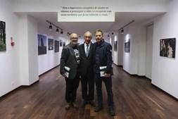 Nuno André Ferreira, Marcelo Rebelo de Sousa e Adriano Miranda