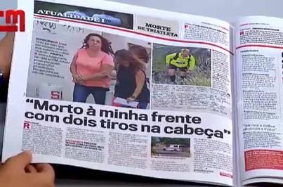 """Viúva de triatleta ao CM: """"Morto à minha frente com dois tiros na cabeça"""""""