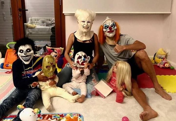 a9f8531ac Famosos arrasam com disfarces de Halloween - Famosos - Correio da Manhã