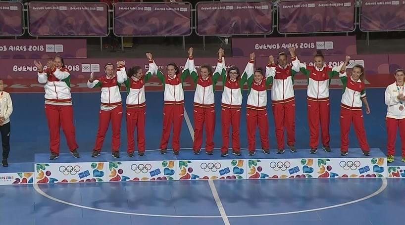 Portugal bate Japão e vence futsal feminino dos Olímpicos da Juventude 687e33f5541db