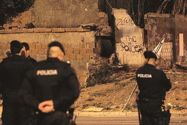 Agentes da PSP em ação de patrulhamento