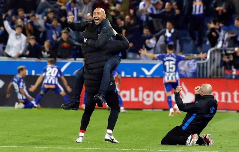 Real Madrid em jogo com o Alavés