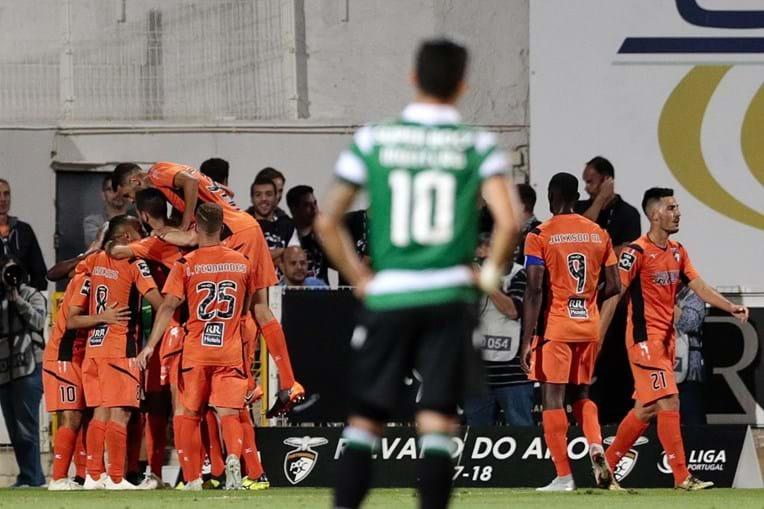Sporting perde com Portimonense para a I Lig