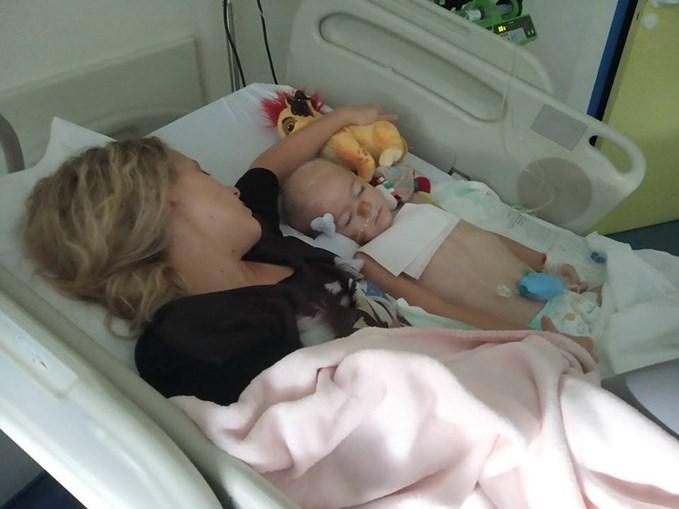 Augustine de 4 anos lutava contra um tumor raro no cérebro