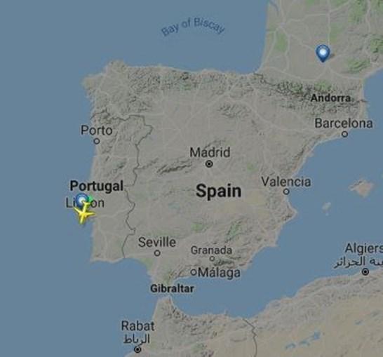 Voo 494 - Lisboa-Toulose