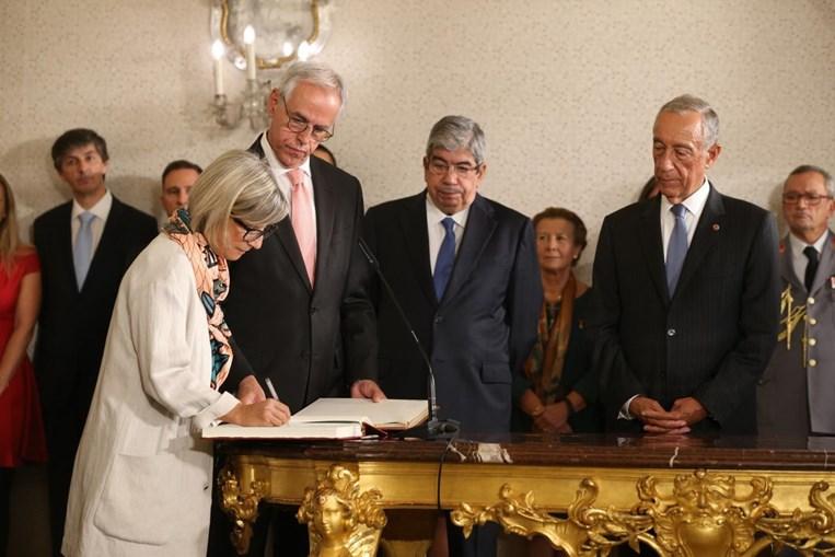 Marta Temido tomou posse como ministra da Saúde