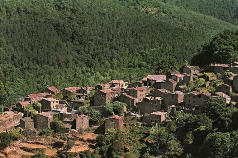 As Aldeias do Xisto, da serra da Lousã, são um dos encantos do Centro do país