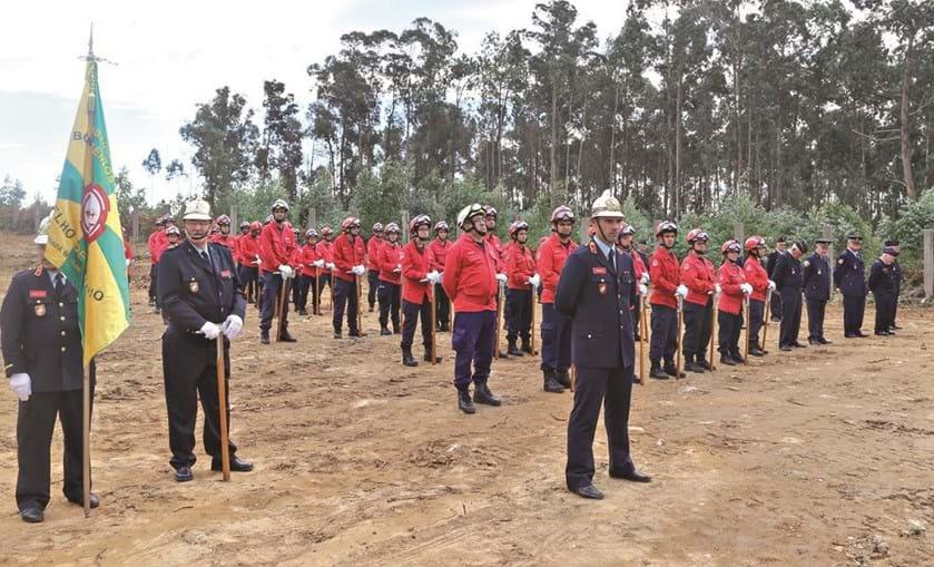 Cerimónia de lançamento da primeira pedra do novo quartel dos Bombeiros do Concelho de Espinho teve lugar este sábado