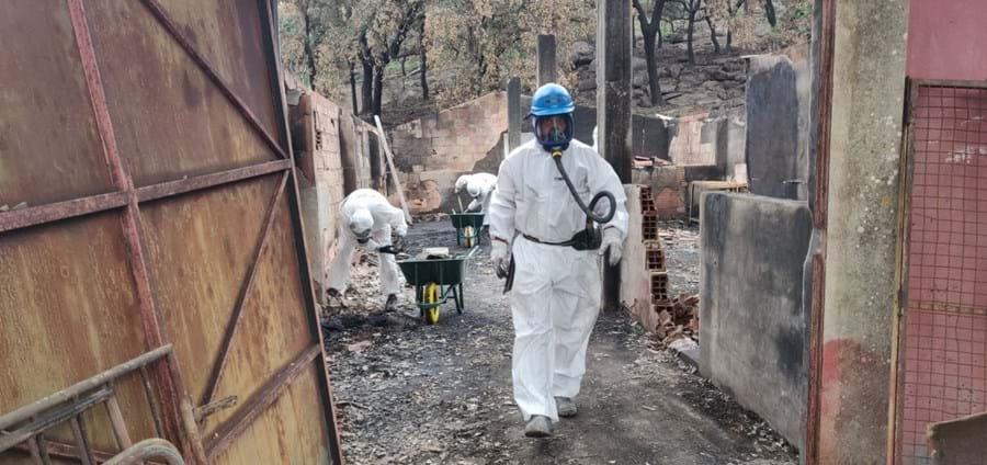 Remoção de amianto em Monchique