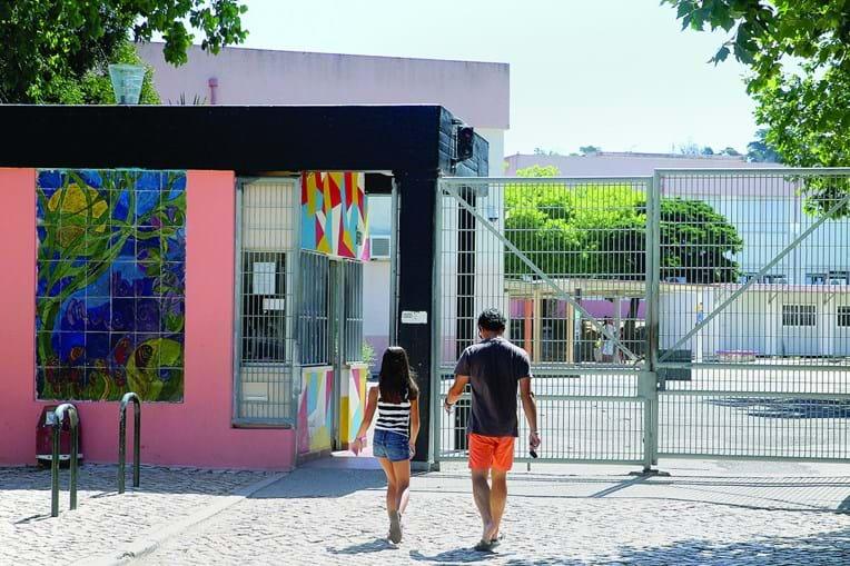 Escola Ibn Mucana, em Alcabideche, já foi beneficiada graças ao OP Cascais