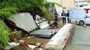 Muro que matou estudantes da Universidade do Minho estava danificado há anos