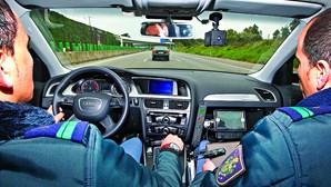 Câmaras tramam condutor em fuga na A1