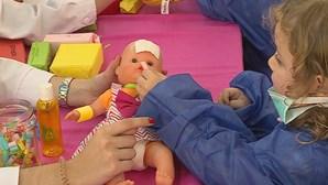 Brincar aos 'médicos' combate medo das crianças