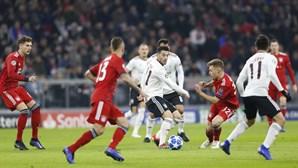 Águias sofrem goleada em Munique e são eliminadas da Liga dos Campeões