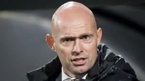 O treinador de futebol Marcel Keizer
