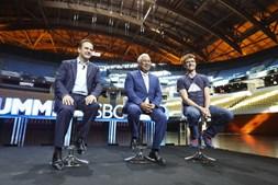 António Costa e Fernando Medina com Paddy  Cosgrave, fundador da Web Summit