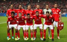 O onze do Benfica para o jogo com o Ajax