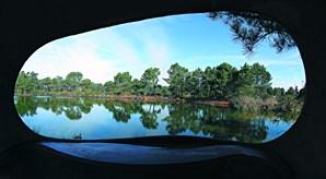 Parque ambiental do Buçaquinho tem 24 hectares, seis lagoas e jardim de ervas aromáticas