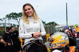 Sophia Floersh no GP de Macau
