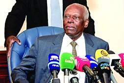 José Eduardo dos Santos, ex-presidente de Angola