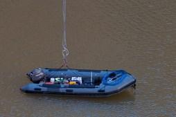 Marinha Portuguesa realiza operações de resgate em pedreira de Borba