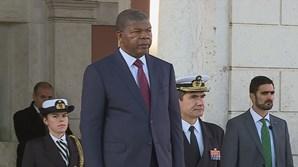 João Lourenço termina visita de Estado com deslocação à Base Naval em Lisboa