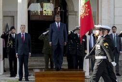 João Lourenço, presidente de Angola, em Portugal