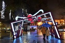 Iluminação de Natal em Viseu
