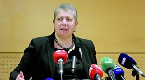Ana Paula Vitorino, ministra do Mar, pediu aos estivadores para  suspenderem paralisação
