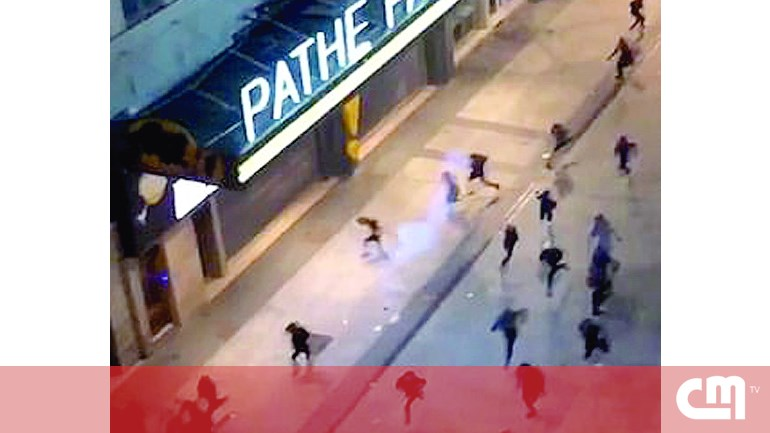 1e4b86d23 Mais de 100 jovens detidos por tumultos em festa de Halloween em França
