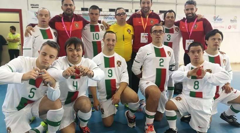 9ce4984875980 Portugal entra a vencer no Europeu de futsal de Síndrome de Down ...