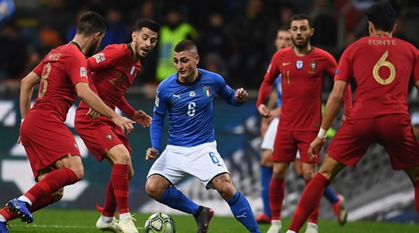 c12774848e Portugal empata com Itália mas garante acesso à fase final da Liga das  Nações
