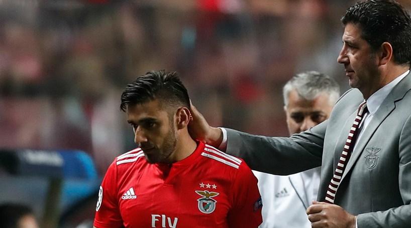 ca3c370dc2 Salvio falha convocados de Rui Vitória para jogo do Benfica frente ao Bayern  Munique