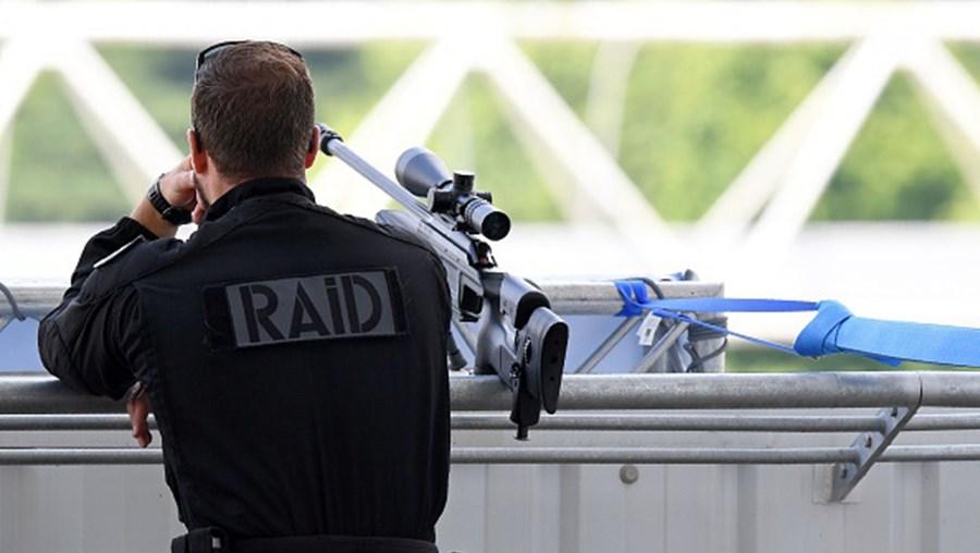 Polícia de intervenção francesa