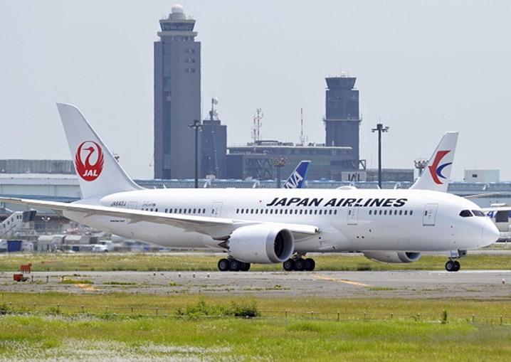 Avião Japan Airlines